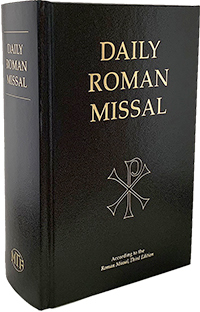 Daily Roman Missal, 7th Ed., Standard Print (Hardcover, Black)