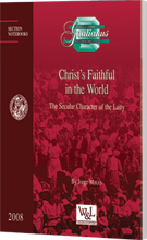 Christ's Faithful in the World