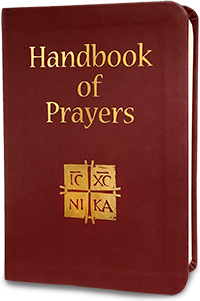 Handbook of Prayers, PU Leather (Deluxe)