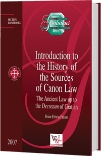 Introduction to the History of the Sources of Canon Law