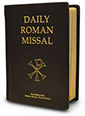 Daily Roman Missal, 7th Ed., Standard Print (Genuine Leather, Black)