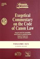 Exegetical Commentary on the Code of Canon Law - Vol. II/1