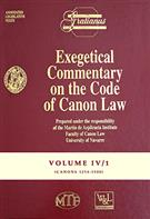 Exegetical Commentary on the Code of Canon Law - Vol. IV/1