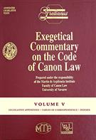 Exegetical Commentary on the Code of Canon Law - Vol. V