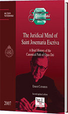 The Juridical Mind of Saint Josemaria Escriva