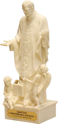 St. Josemaria Escriva: Limited Edition Statue for the Family